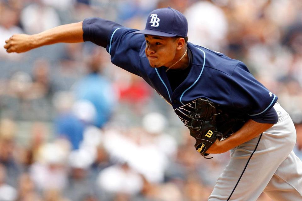 Rays pitcher Chris Archer needed just 97 overall pitches — 67 for strikes — for his second career complete game.