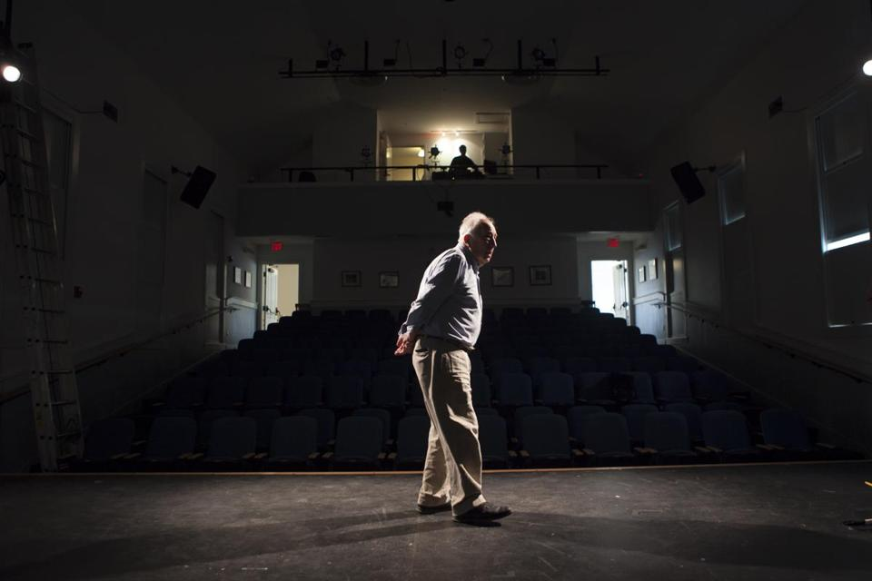 "Tony and Obie award winner John Wulp is staging the world premiere of ""Red Eye of Love"" inside a community center on picturesque North Haven, Maine."