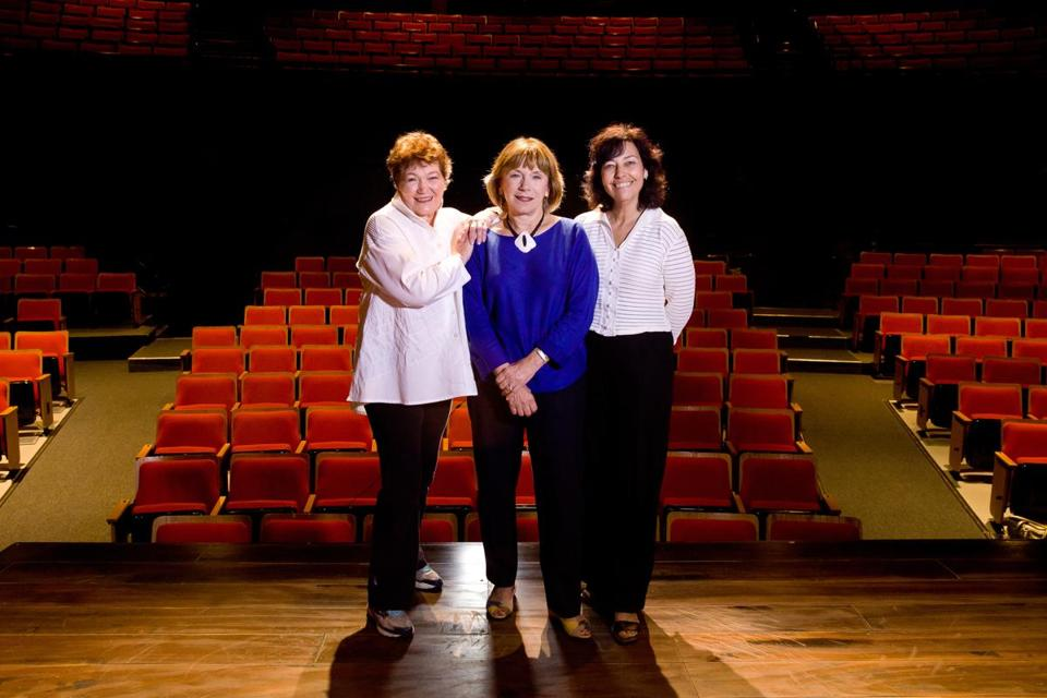 Tina Packer, founding artistic director of Shakespeare & Company; Julianne Boyd, cofounder and artistic director of Barrington Stage Company; and Kate Maguire, artistic director and CEO of Berkshire Theatre Group.