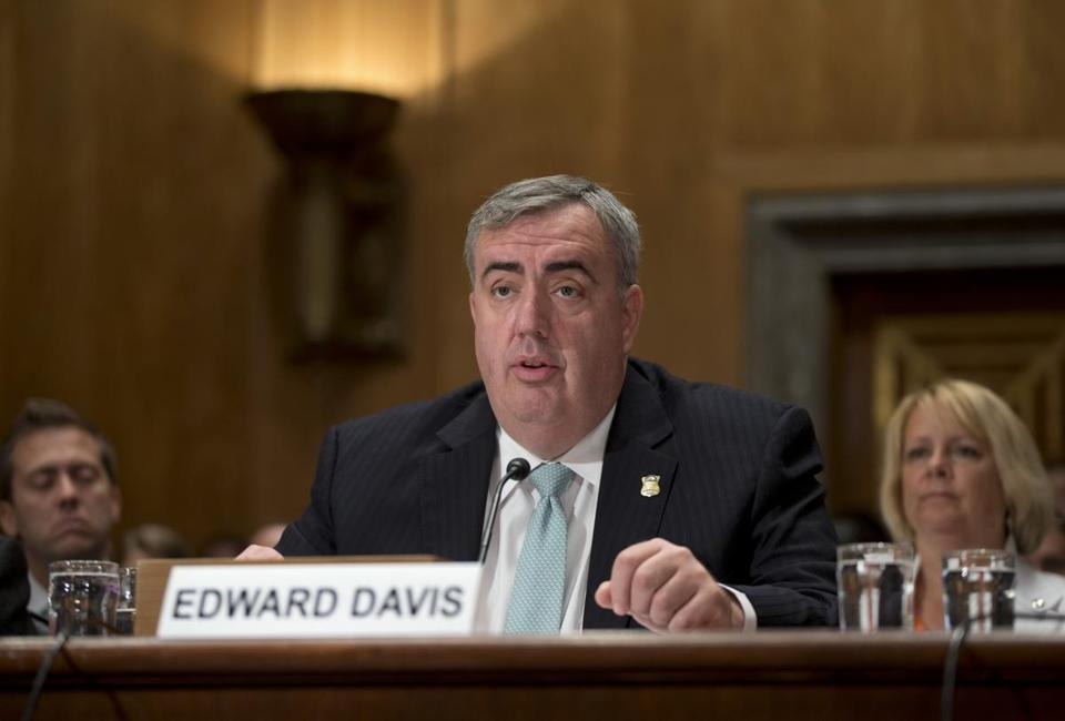 Boston police commissioner Edward F. Davis is beginning to be mentioned as a candidate for the next secretary of homeland security.