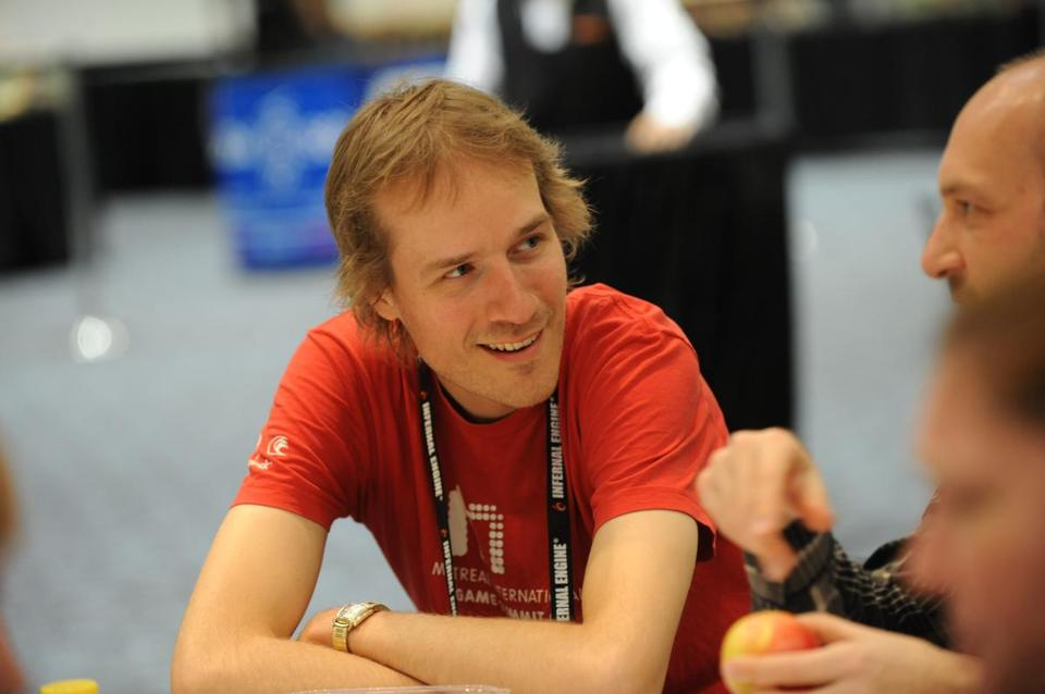 "Jason Rohrer (pictured), the creator of the multiplayer game ""The Castle Doctrine."""
