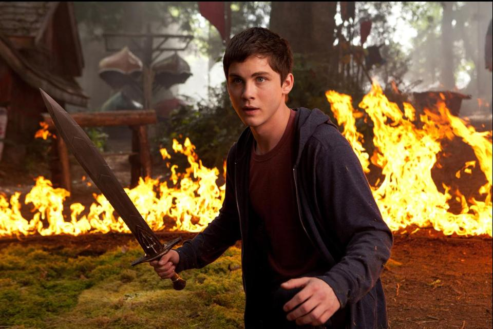 "Logan Lerman returns to the role of Percy Jackson, son of Poseidon, in ""Percy Jackson: Sea of Monsters."""