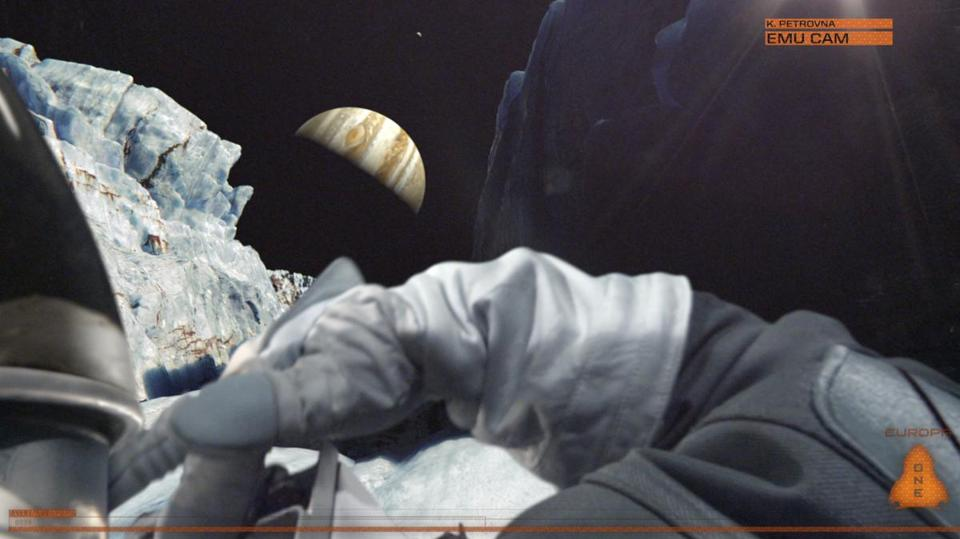 """Europa Report"" uses a variety of visual modes to give the film a docudrama look."