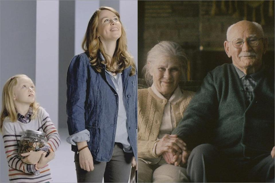 "TD Bank's ""Bank human again"" ads (left) and Bank of America's ""Life's better when we're connected"" campaign are two of the efforts that banks have made to connect with people."