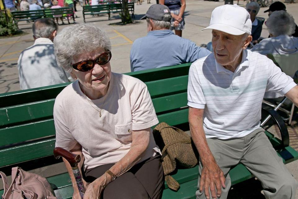 """He doesn't deserve the attention. He's a horrible human being,"" said Phyllis Stavris, who sat with her husband, Norman, at Castle Island on Tuesday. The couple are both South Boston natives."