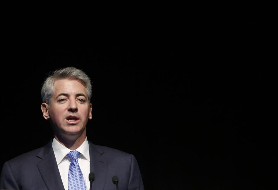 J.C. Penney's shares jumped after word got out of William A. Ackman's letter.
