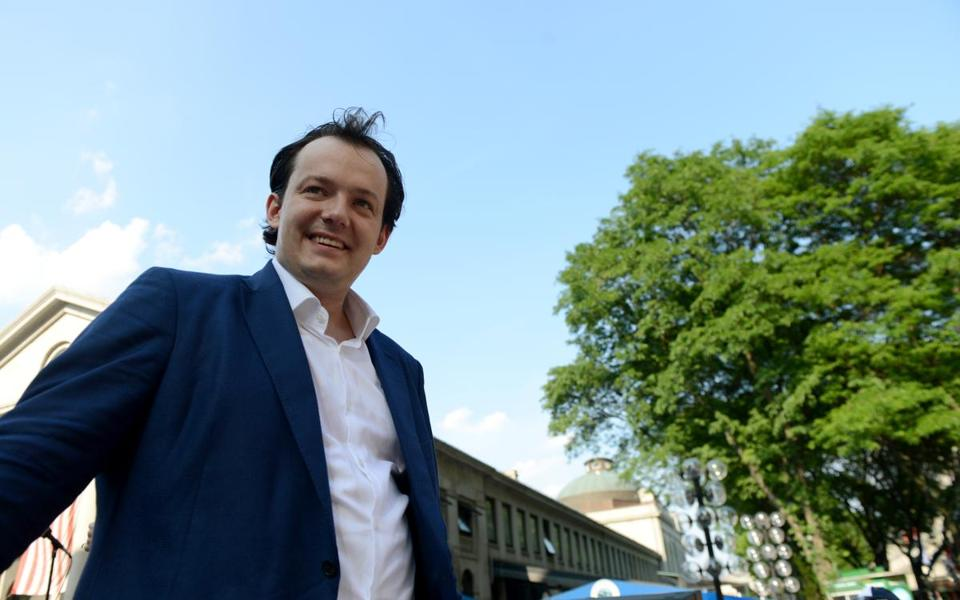 Andris Nelsons debuts as BSO music director designate Oct. 17.
