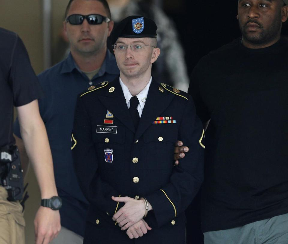 Bradley Manning had a history of fiery outbursts.