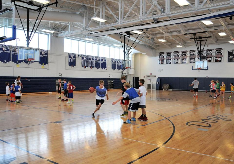 Rockland's renovated high school may be a factor in a slight increase in students.
