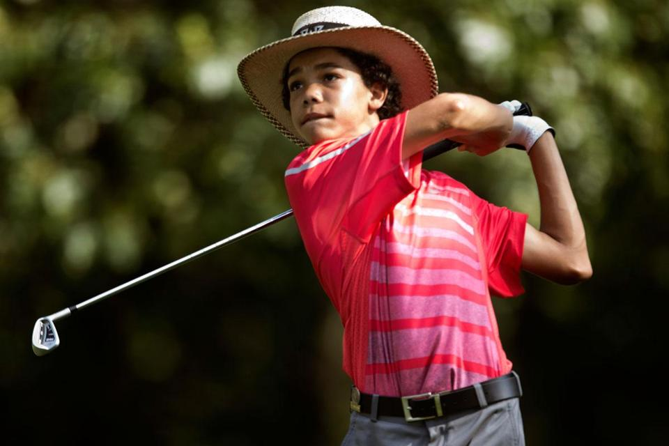 Andrew Walker, 14, is the youngest African-American to compete in the US Amateur.