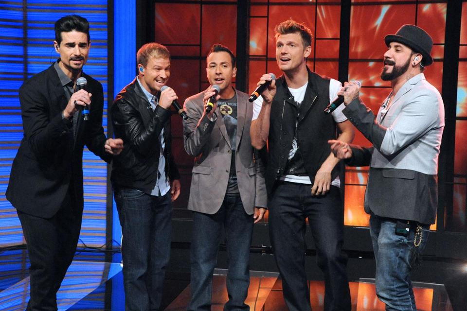 "The Backstreet Boys (pictured on ABC's ""Live with Kelly and Michaelu"") know they can't last forever in their original form."