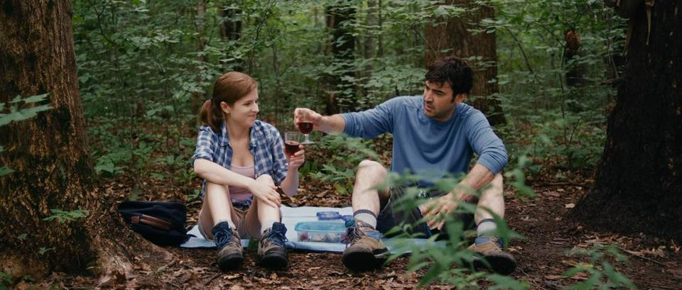 "Anna Kendrick and Ron Livingston star in ""Drinking Buddies."""