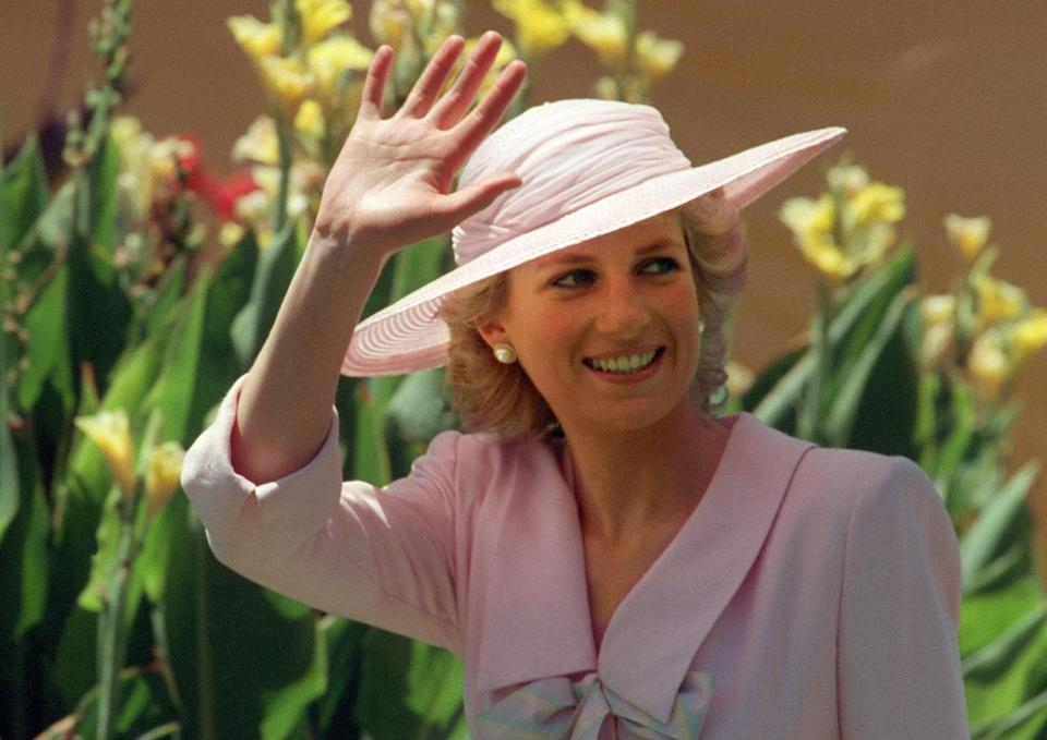Diana waved was killed in a car crash in Paris in 1997.