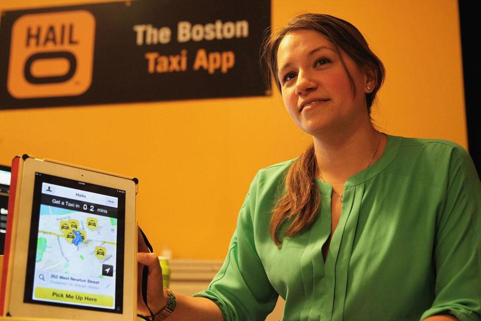 Vanessa Kafka, the Boston general manager for Hailo, helped launch the app's US debut here last year.