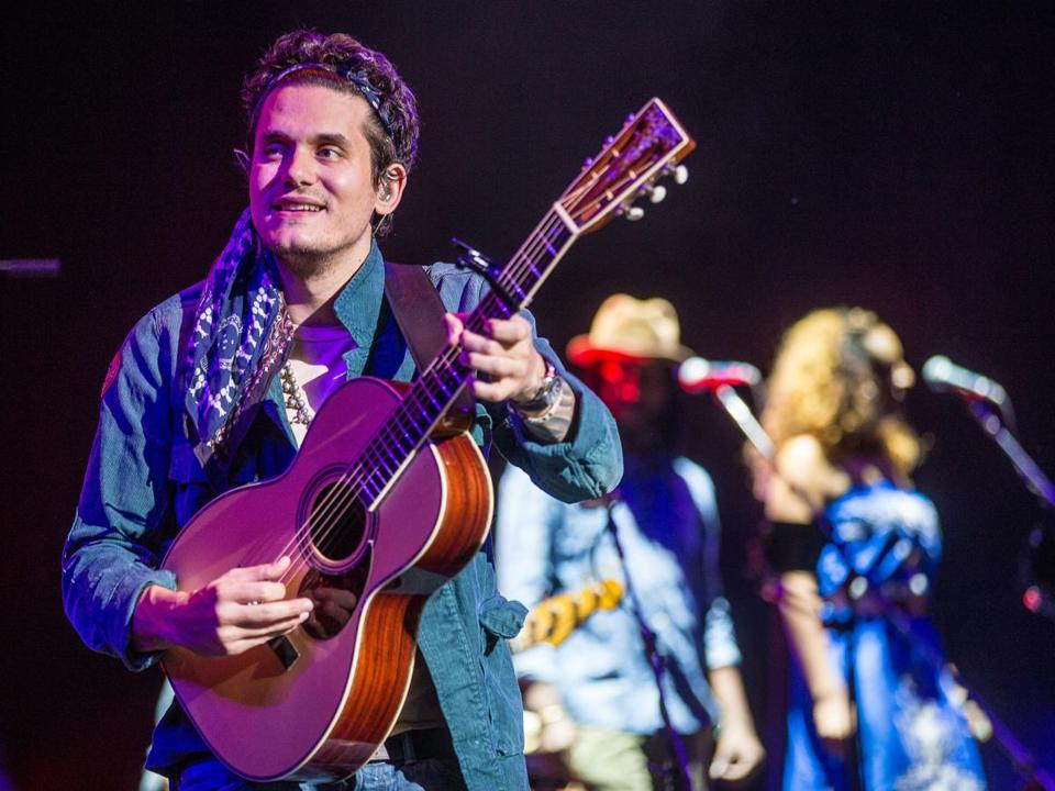 "John Mayer, a Grammy award-winning artist, performed last weekend the Comcast Center in Mansfield, where he recalled his days at Berklee College of Music and played a song, ""Comfortable,"" that he came up with while on the T."