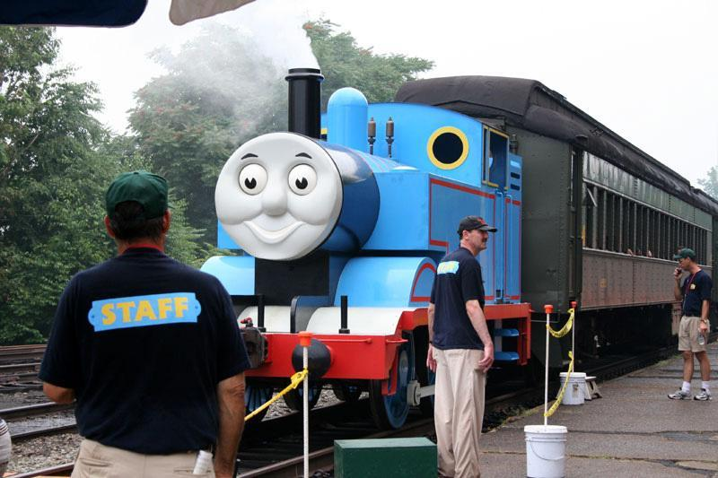 Thomas the Tank Engine will roll into Edaville USA.