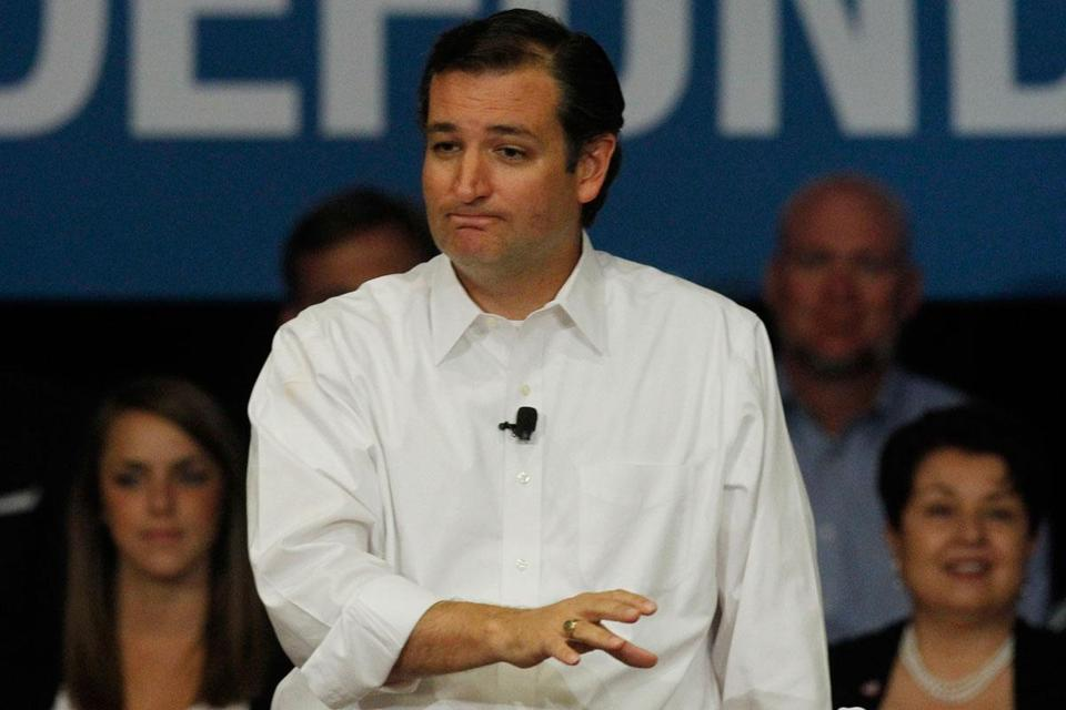 Senator Ted Cruz, a Texas Republican and favorite of the Tea Party movement, was born in Canada, to a Cuban father and US-born mother.