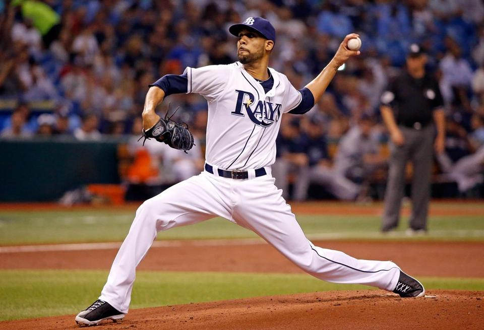 Rays ace David Price won his fifth consecutive decision.