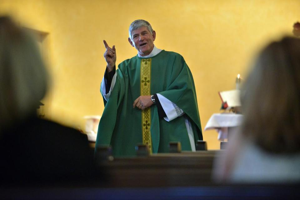 The Rev. Jurgen Liias leads a Catholic parish that is an alternative for former Anglicans.