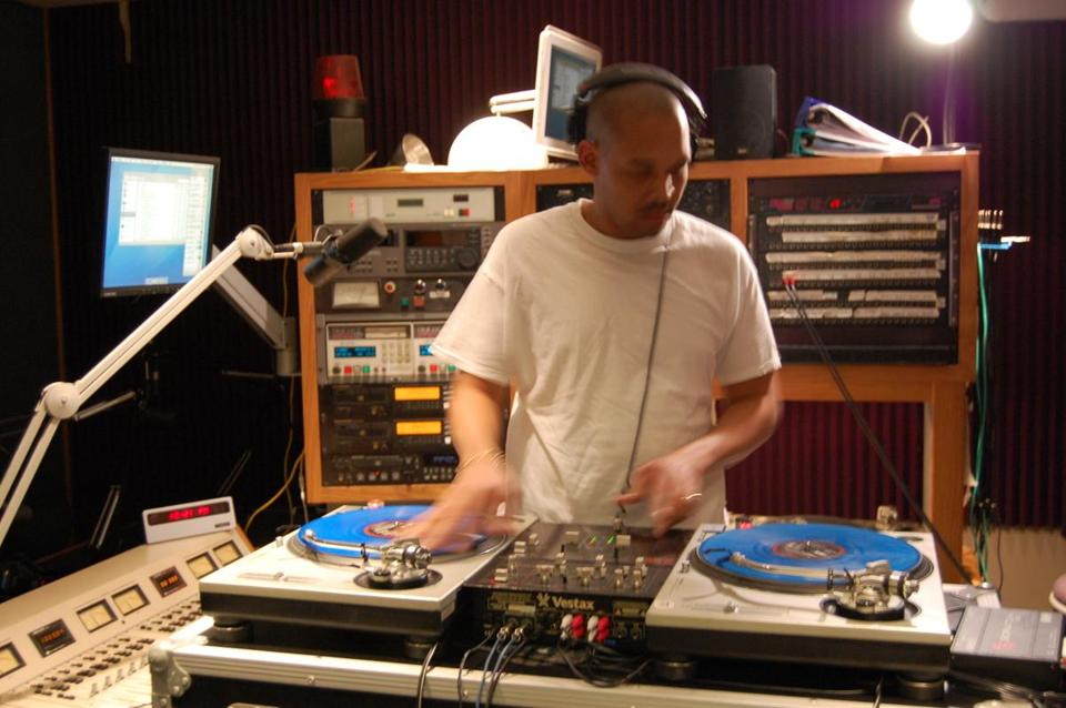 "DJ Jimizz, host of WMBR'S ""The Choice Is Yourz,"" says there are not as many calls about homegrown artists as before."