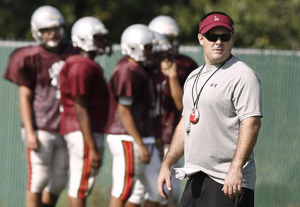 Lowell head football coach John Florence says the new playoff format means he has no idea who his team will play following the seventh week.
