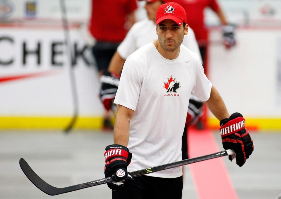 Patrice Bergeron appeared to move well in Team Canada drills, though, of course, those weren't on ice.