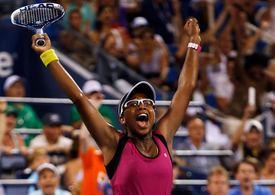 Victoria Duval, a 17-year-old qualifier who is ranked 296th, stunned 2011 US Open champ Sam Stosur in three sets.