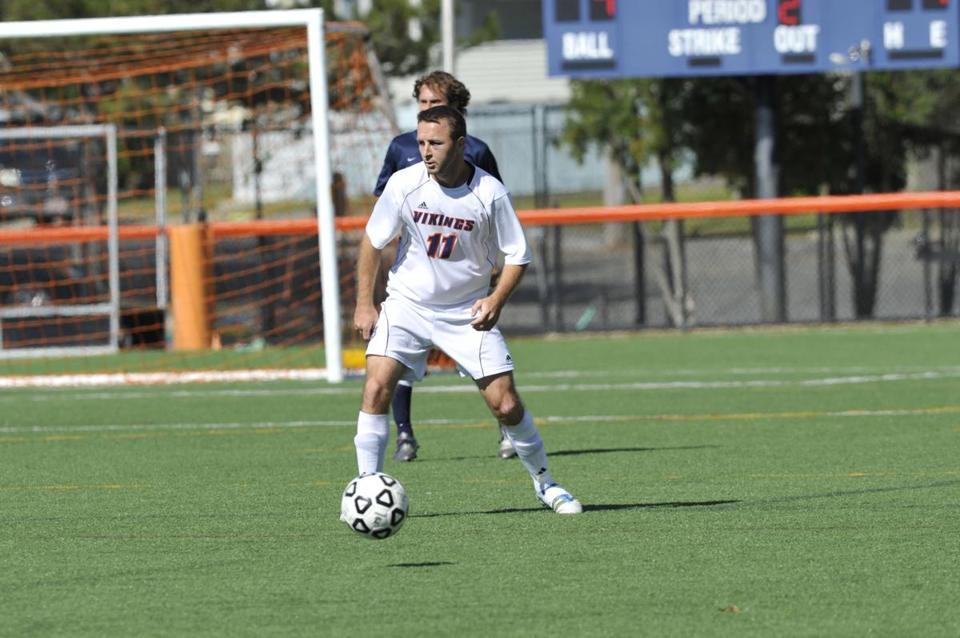 Saimir Zepaj is a Salem State soccer leader.