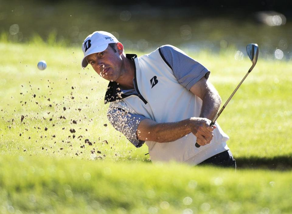 Matt Kuchar  is one of the best in the PGA at playing out of a bunker.