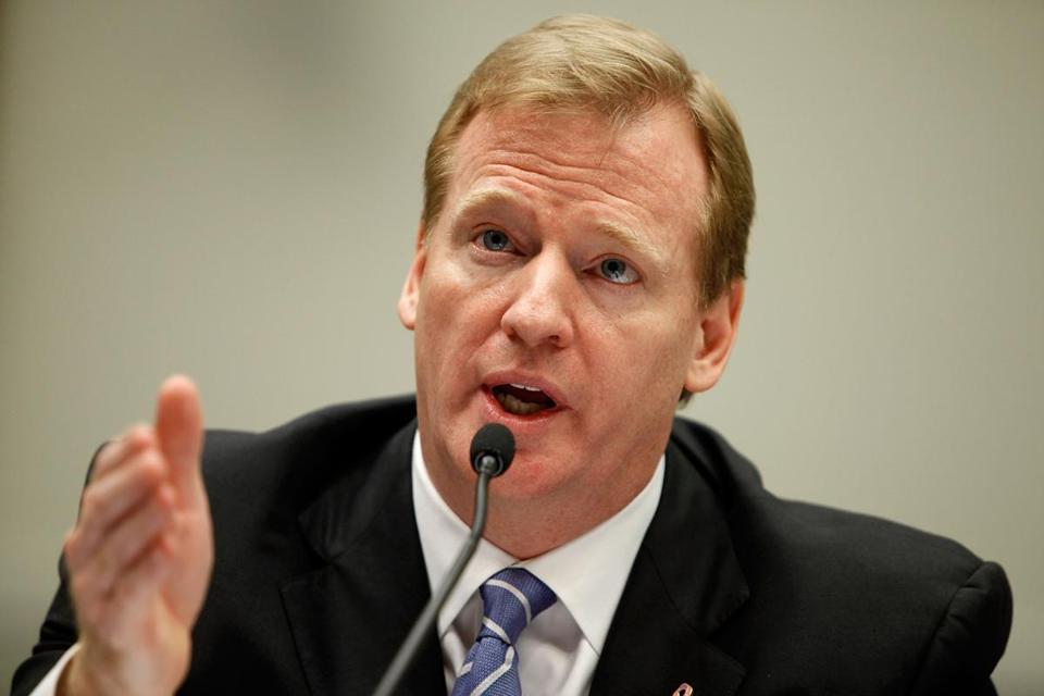 NFL commissioner Roger Goodell's league will pay out $765 million in a proposed concussions settlement.