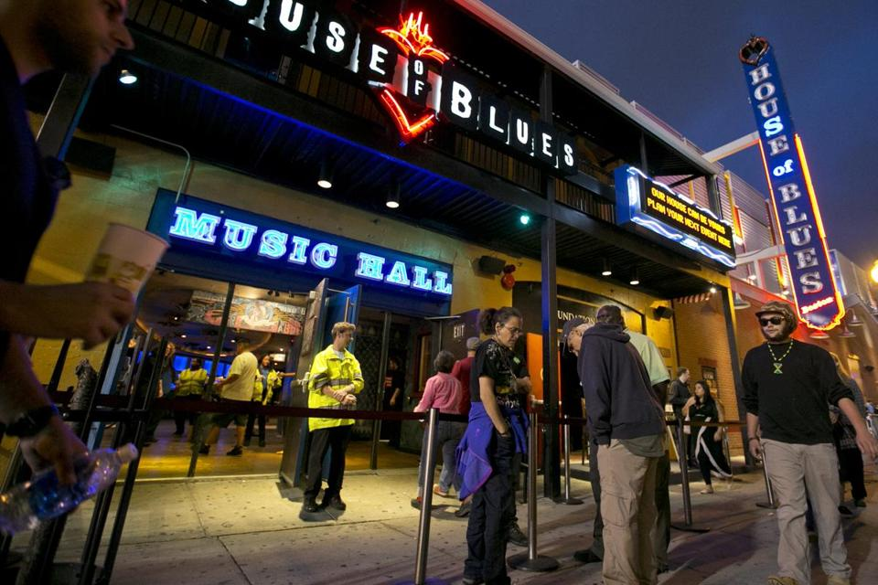 Three people were taken to Beth Israel Deaconess Medical Center at the conclusion of a show at the House of Blues.
