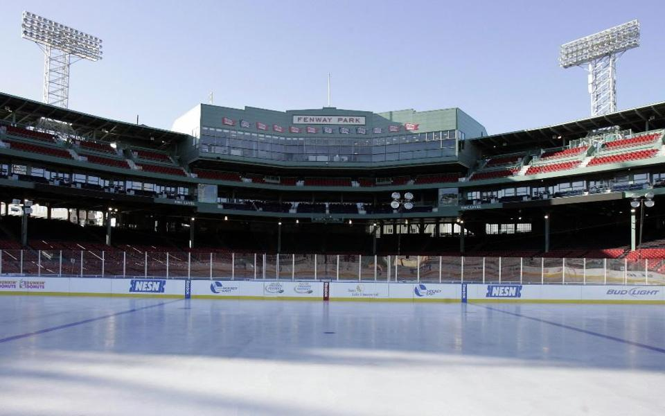 Fenway Park first hosted hockey in 2009 and 2010, with the centerpiece event being the 2010 NHL Winter Classic.