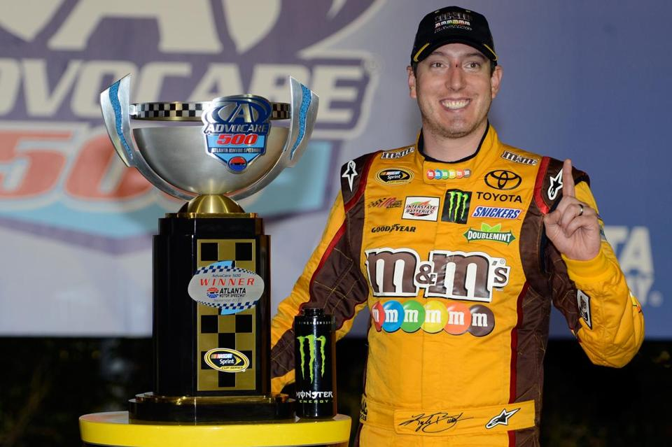 Kyle Busch was among four more drivers locking up their spot in the Chase heading to Richmond next weekend.