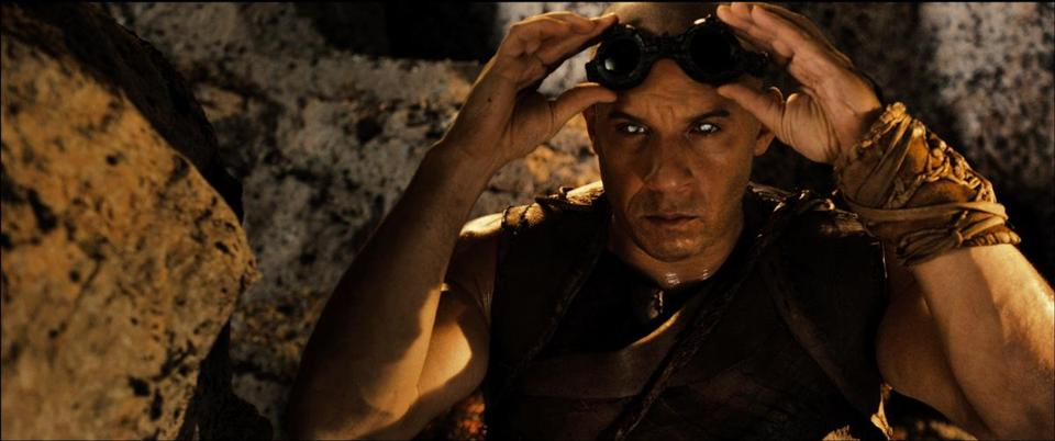 "Vin Diesel as the title character  in director David Twohy's ""Riddick."""