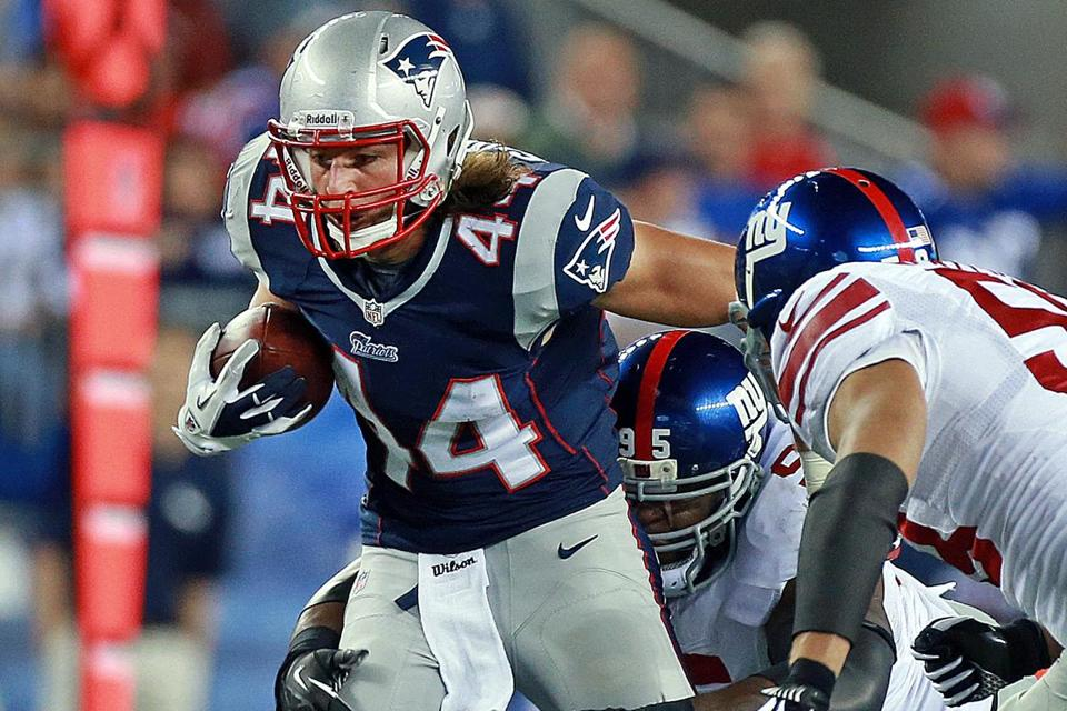 Zach Sudfeld likely will be the No. 1 tight end until Rob Gronkowski returns.
