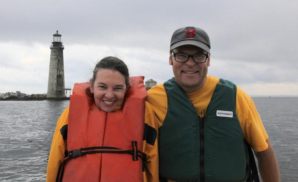 Lynn and Dave Waller intend to open Graves Island to the public in some manner, possibly as an offshore inn.