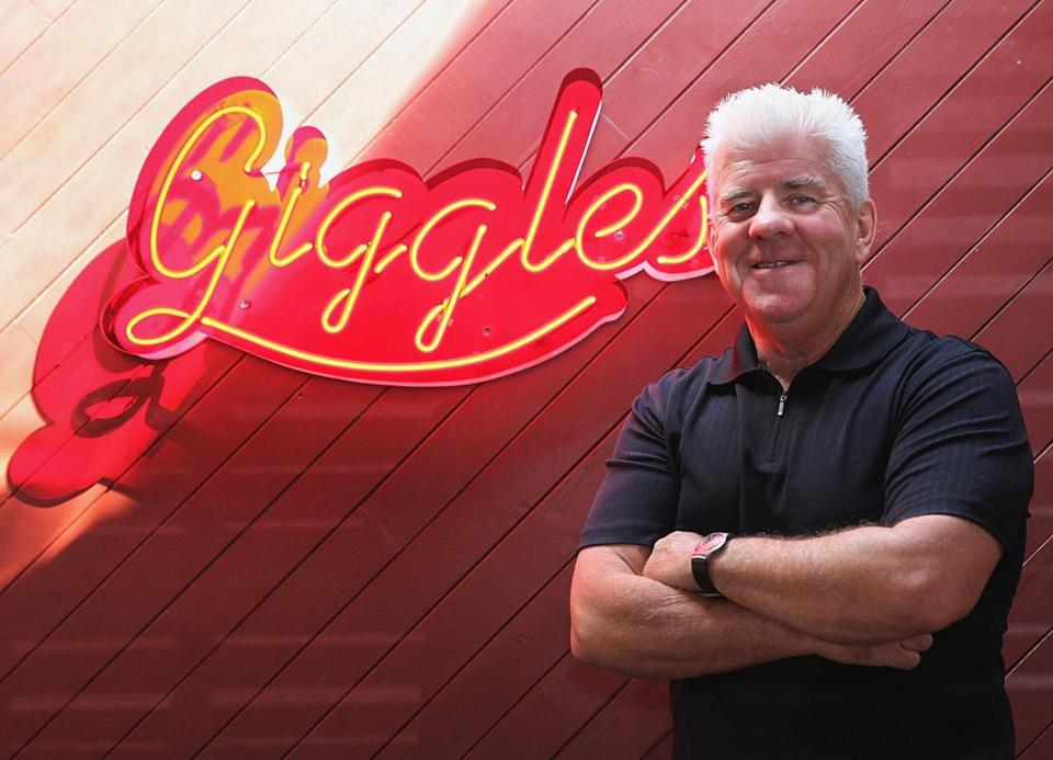 Giggles Comedy Club owner Mike Clarke.