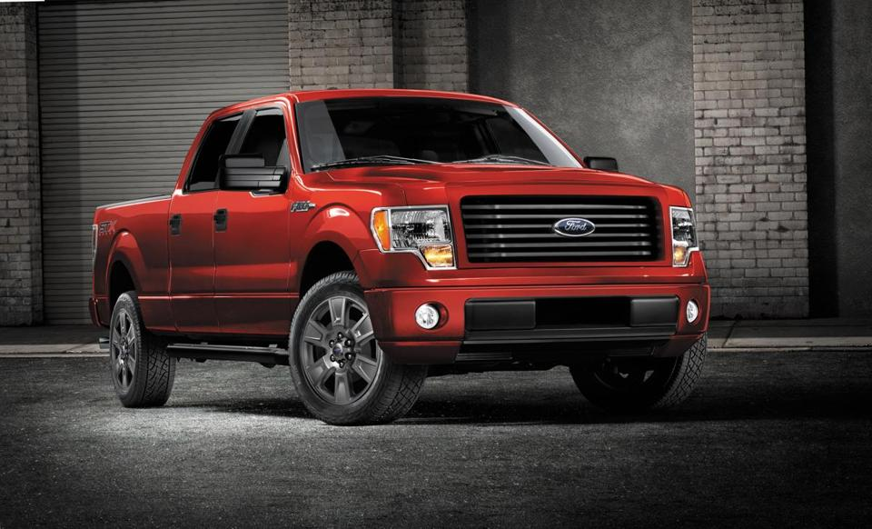 Ford said it plans to add a four-door cab to its lower-cost F-150 STX line.
