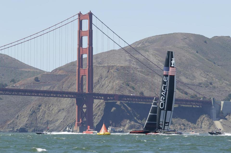 The majesty of San Francisco Bay will be the backdrop for the America's Cup, which will feature Oracle Team USA.