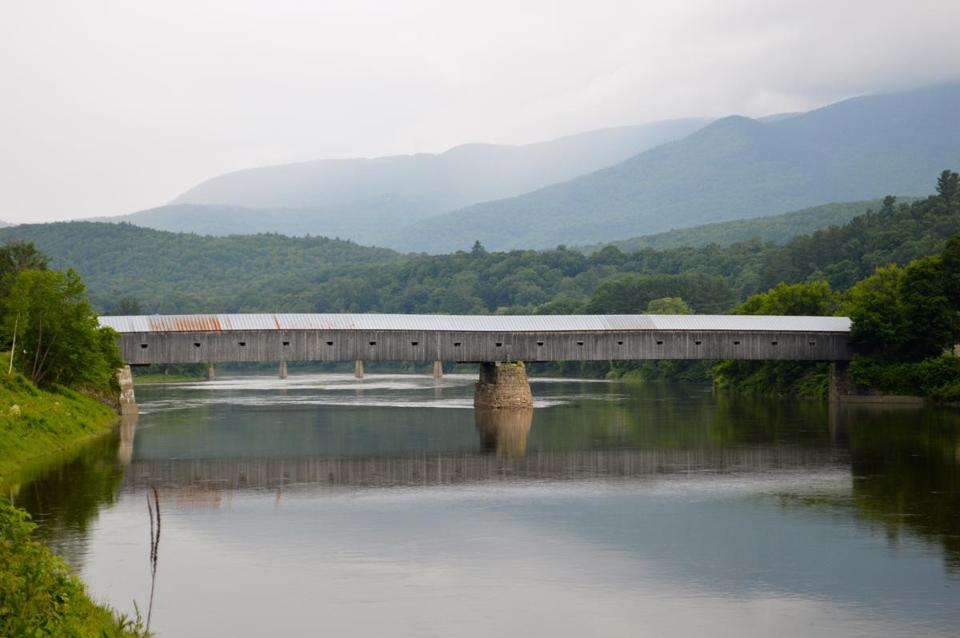 The Cornish-Windsor Covered Bridge is one of the longest in the nation.