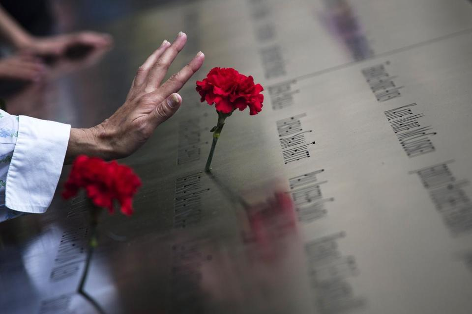 Relatives of victims gathered at the World Trade Center site in New York Wedensday to recite the names of the nearly 3,000 people who died in the terrorist attacks Sept. 11, 2001.