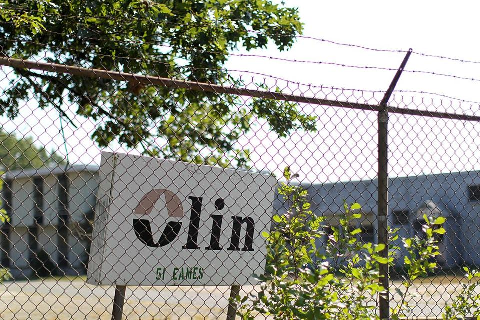 The Olin Chemical plant closed in 1986 and is now a 53-acre Superfund site.