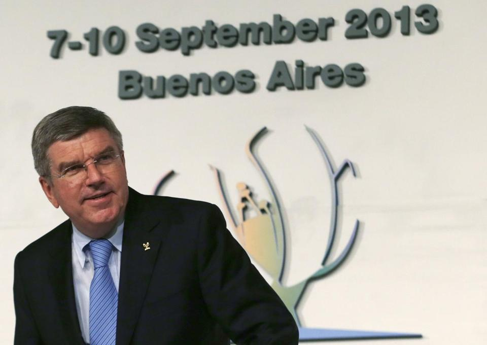 His wealth of experience made Thomas Bach a perfect fit for his new job.