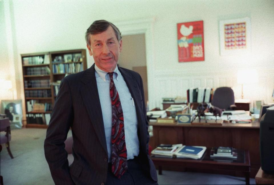 Dr. Hackney became chairman of the National Endowment for the Humanities, a post he held from 1993 to 1997.