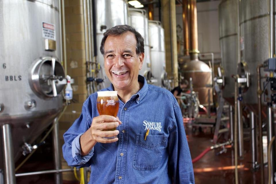 Boston Beer shares have increased tenfold since mid-2009, driving founder Jim Koch's net worth above $1 billion.