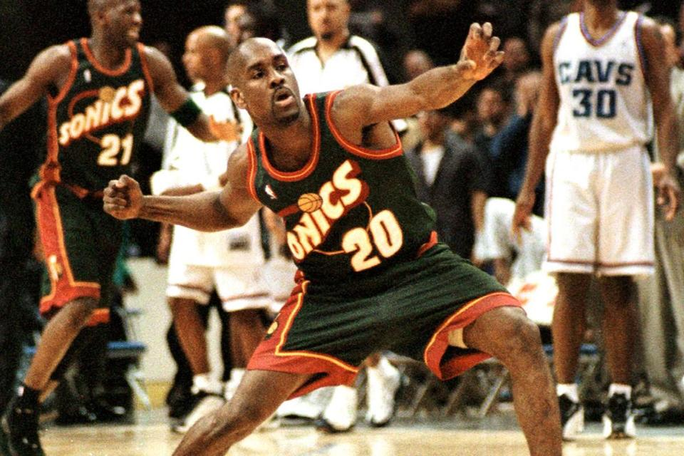 Inducted into the Naismith Hall of Fame last Sunday, Gary Payton repeated several times that he enters as a Sonic despite winning a championship with the Heat.