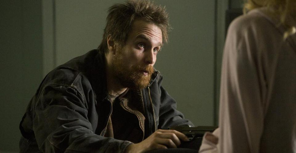 Sam Rockwell plays a loner who accidentally shoots a girl and stumbles upon $100,000.