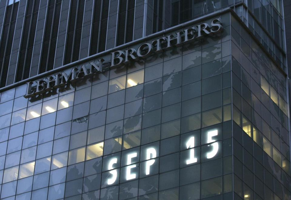 Five years ago, Lehman Brothers, the 158-year-old investment bank, filed for bankruptcy. President Obama used the anniversary to show progress since then and remaining pitfalls.