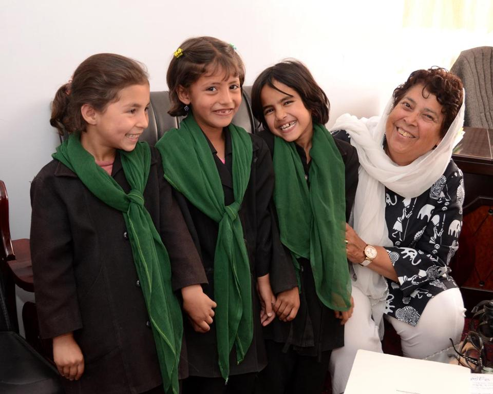 Razia Jan, whose foundation built a school for girls, will return for fund-raising events.