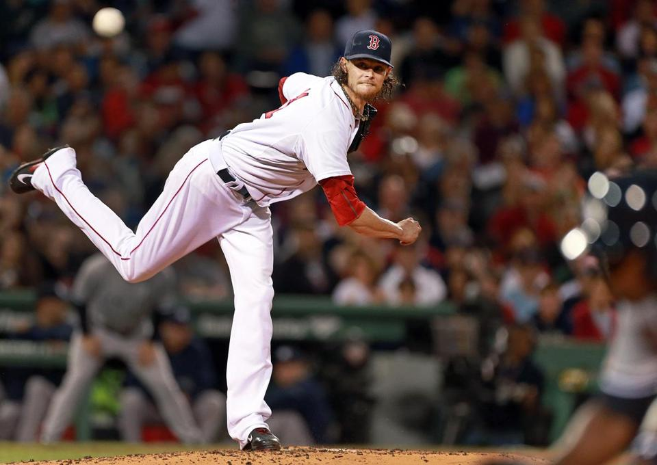 Clay Buchholz walked four but worked out of trouble.